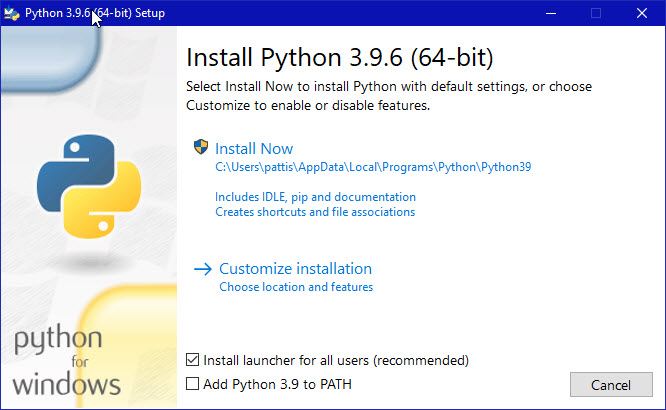 Downloading & Installing Python